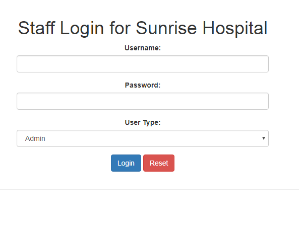 Hospital Management System In PHP