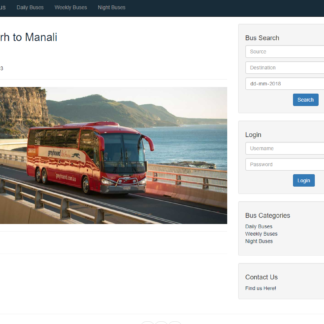 online bus booking system in php