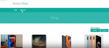 mobile shop php