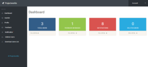 user management system Admin Dashboard