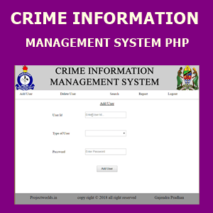 CRIME INFORMATION MANAGEMENT SYSTEM