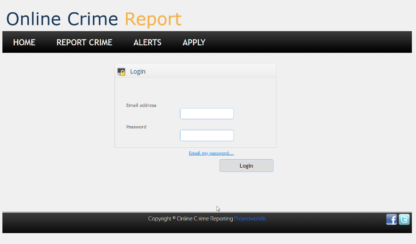 crime management system login
