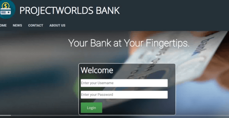 online banking php
