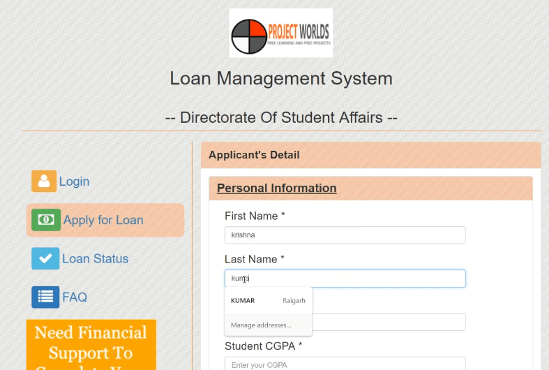 Update Payment Gateway Instamojo Integration Android Tutorial: Online Loan Management System In PHP