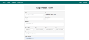 PHP Online Admission System Project