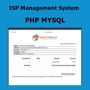ISP Management System