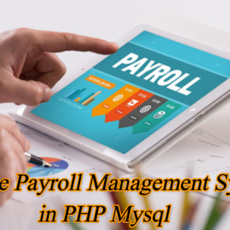 Payroll Management System Project in PHP
