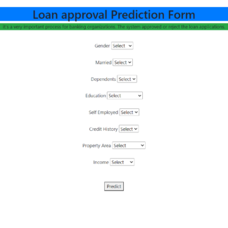 Loan Eligibility Prediction Python Machine Learning